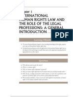 International HR Law and the Role of the Legal Professions