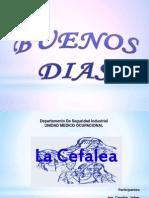 Presentacion de Diapositivas Sobre La Cefalea - Elen