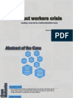 Contract Workers Crisis