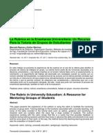 la rúbrica en la enseñanza.pdf