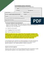 Site Engineering Design Checklist