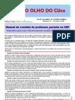 Manual de conduta do professor, perante os CEF