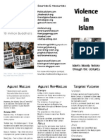 islam in a nutshell violence in islam brochure 8 oct 2013
