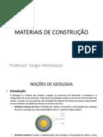 Materiais de Construção Aula 02