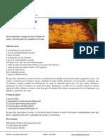 Lasagna de Carne Especial 13 May 2014