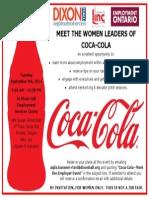 Coca-Cola Meet the Employer Event 2
