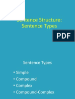 sentence structure types