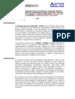 Plan Concertado Cg Saf Con Eess Centro de Salud Sillapata