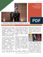 Gacetilla 9 - IX Seminario Internacional de Seguridad Social y El Mundo Del Trabajo Colombia