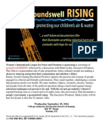 Groundswell Rising Flier WILPF