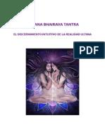 Vijñana Bhairava Tantra Discernimiento Intuitivo Realidad Última
