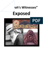 """""""Jehovah's Witnesses"""" Exposed. (What the Bible Has to Say)"""