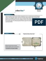 Optical Subscriber Box