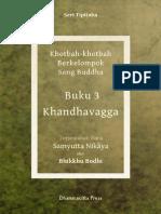 Samyutta Nikaya 3 - Khanda Vagga