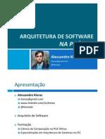 Arquiteturadesoftware Napratica Resumed 090522153245 Phpapp02