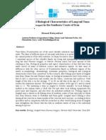 The Surveying of Biological Longtail Tuna (2007) Hedayatifard