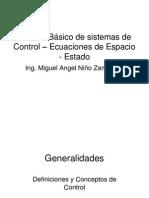 Sistemas de Control, Analisis en Espacio de Estados
