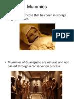 Mummies Proyecto Momias INGLES