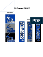 cta apparel order 2014-15 2