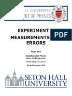 PHYS1815 ExperimentI Fall2014 En2