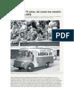 Bárbara Áñlvarez Plá. Los Últimos 75 Años, Tal Como Los Mostró La Agencia EFE.