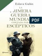 27937_La Primera Guerra Mundial Contada Escepticos