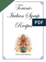 Torani Italian Syrup Recipes