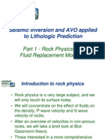Seismic Inversion and AVO Applied to Lithologic Prediction