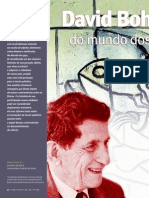David Bohm e as Controversias Do Mundo Dos Quanta