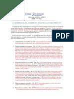 LA SUPREMACIA DEL NOMBRE DE JESUS EN LA IGLESIA PRIMITIVA.pdf