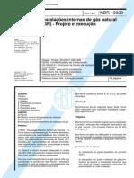 NBR 13933-1997-Instalacoes Internas de Gas Natural(GN)-Projeto e Execucao