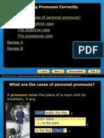 using pronouns correctly