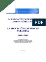 Educacion Superior Colomnbiaestudio 2011