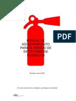 Manual Matafuegos y Extintores