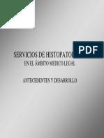 Servicios de Histopatología Forense