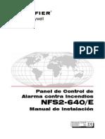 Nfs-640 Manual de Instalacion