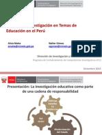 05-Balance Investigación en Temas de Educación