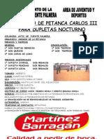 Torneo de Petanca 2007, FUENTE PALMRA