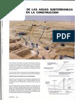 Control de Las Aguas Subterráneas en La Construcción