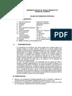 Sílabo de Formaciòn Cristiana I_ Ingenieria Industrial_214-II
