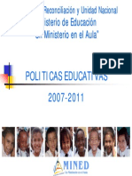 Politicas Mined 2007
