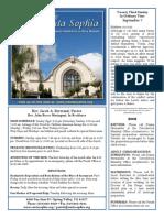 Santa Sophia Bulletin 7 Sept 2014