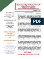 hfc september 7 2014 bulletin 2