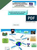 Planificación en El Sistema Educativo Bolivariano