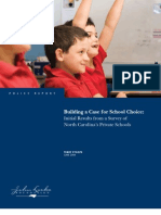 Building a Case For School Choice