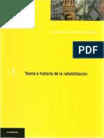 Tomo 1 Tratado de Rehabilitación Teoría e Historia de La Rehabilitación