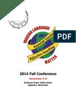 2014 Pre-Conference Book