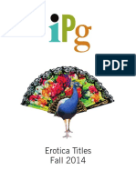 IPG Fall 2014 Erotica Titles