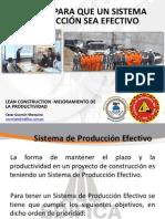 Objetivos Para Que Un Sistema de Produccion Sea Efectivo