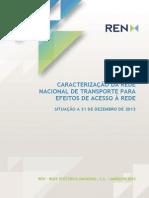 Caracterização Da RNT 31-12-2013